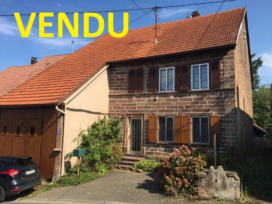 Maison à vendre F5 à Eschbourg