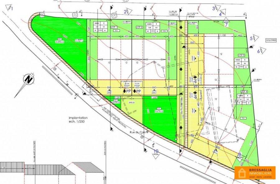 Terrain constructible à vendre à Hostert (rambrouch)