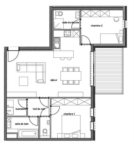 acheter appartement 2 pièces 87 m² arlon photo 2