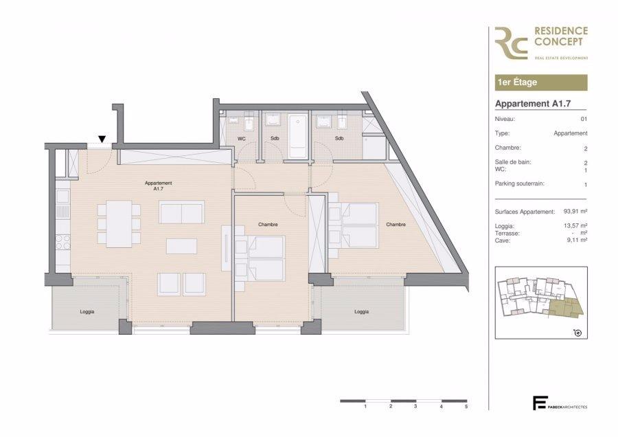 wohnung kaufen 2 schlafzimmer 108 m² luxembourg foto 3