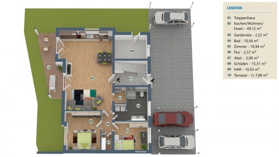 Wohnung zu verkaufen 2 Schlafzimmer in Perl-Nennig