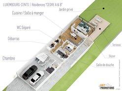Wohnung zum Kauf 1 Zimmer in Luxembourg-Cents - Ref. 7224449
