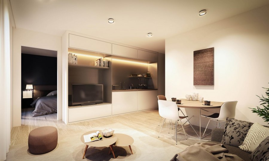 acheter appartement 1 chambre 47.97 m² luxembourg photo 3