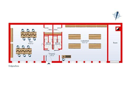 büro mieten 2 zimmer 140 m² püttlingen foto 2