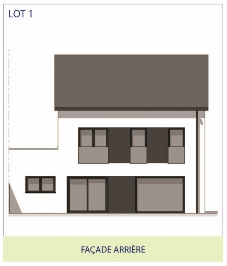 acheter maison jumelée 3 chambres 200 m² rippweiler photo 3