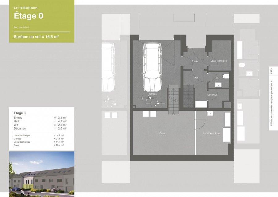 acheter maison jumelée 3 chambres 167.5 m² beckerich photo 3