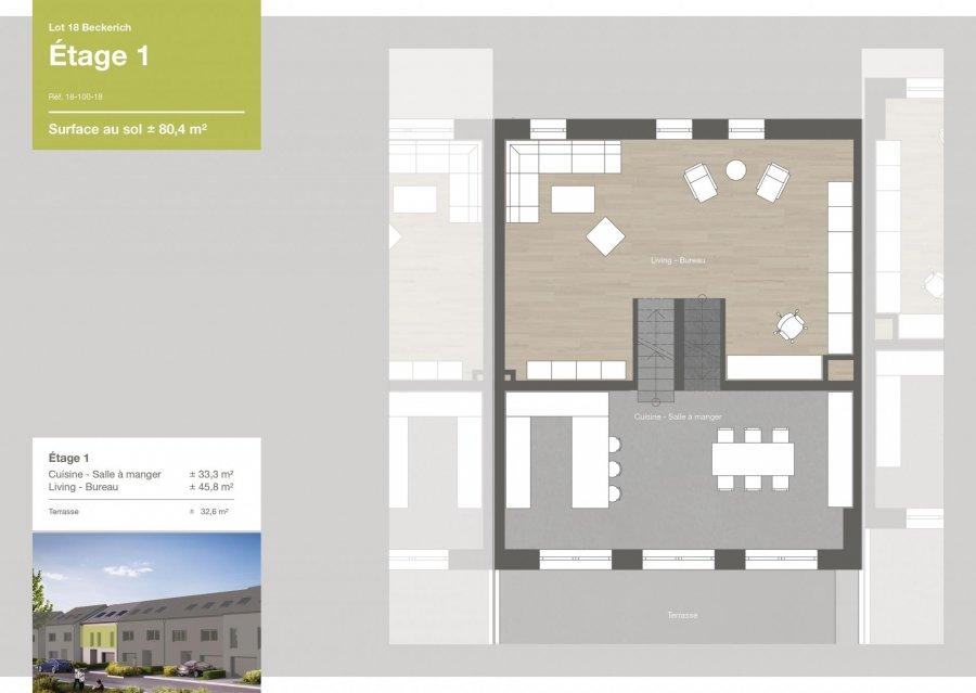 acheter maison jumelée 3 chambres 167.5 m² beckerich photo 4