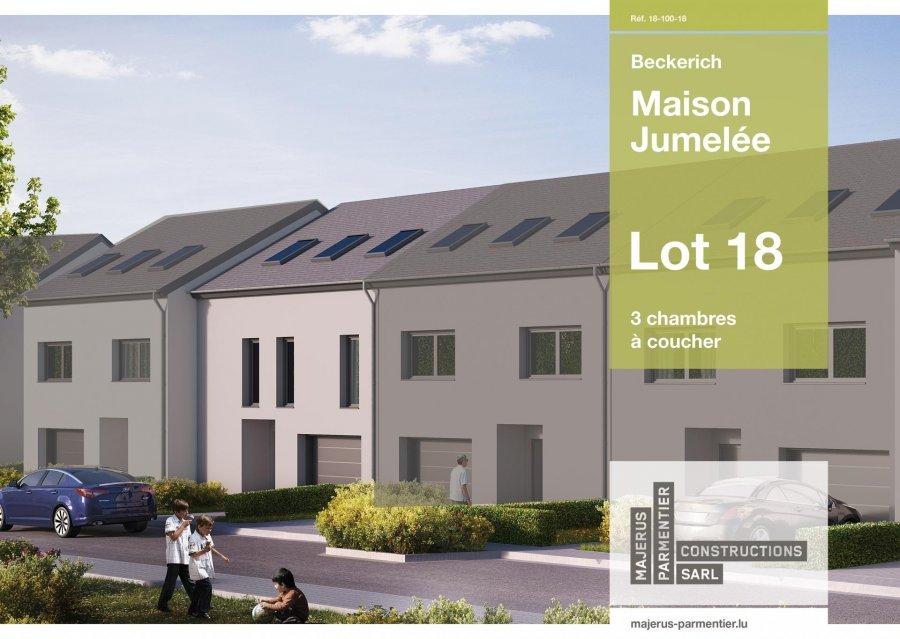 acheter maison jumelée 3 chambres 167.5 m² beckerich photo 1
