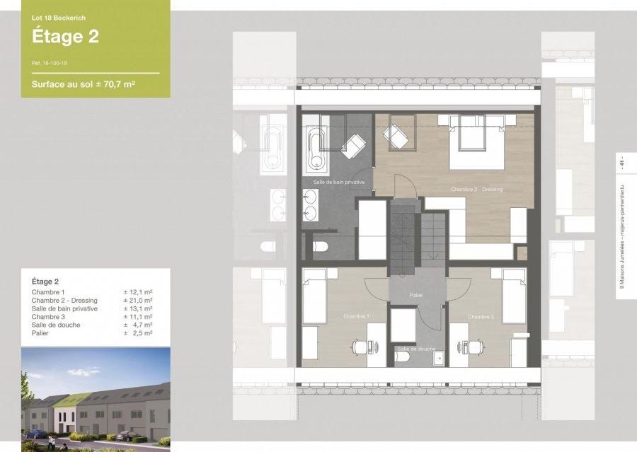 acheter maison jumelée 3 chambres 167.5 m² beckerich photo 5