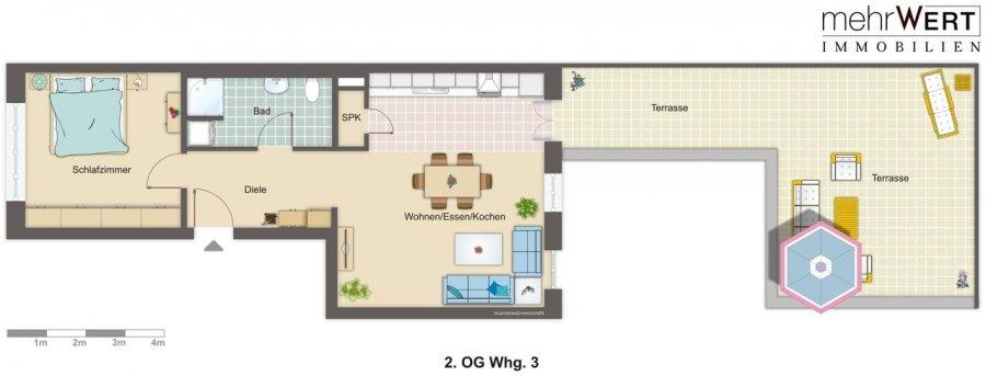 louer appartement 2 pièces 68.05 m² trier photo 4
