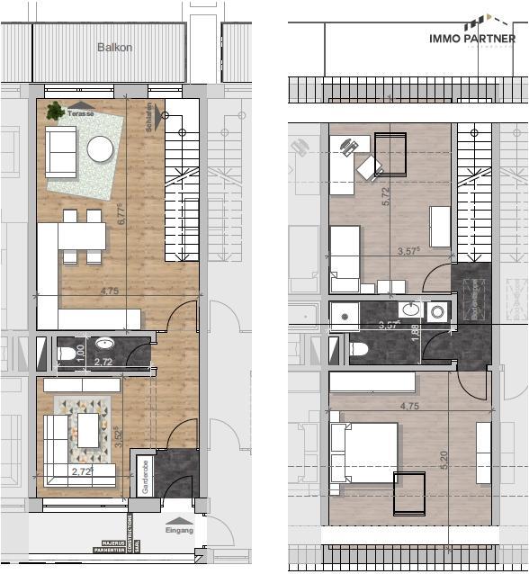 acheter duplex 2 chambres 95.01 m² drinklange photo 4