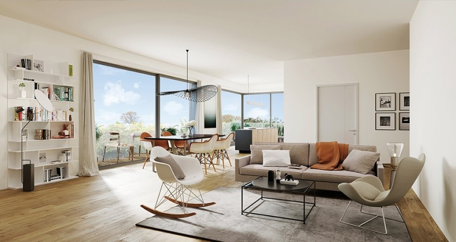 penthouse-wohnung kaufen 3 schlafzimmer 151.52 m² luxembourg foto 4
