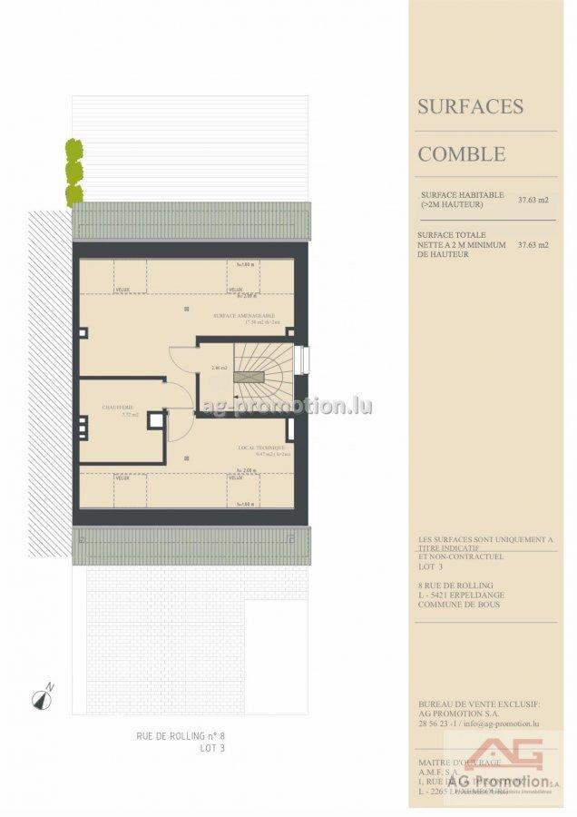 acheter maison individuelle 4 chambres 182.1 m² erpeldange (bous) photo 4