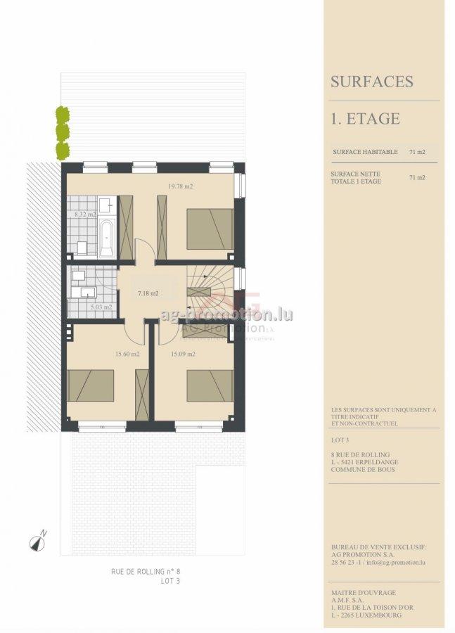 house for buy 4 bedrooms 182.1 m² erpeldange (bous) photo 3