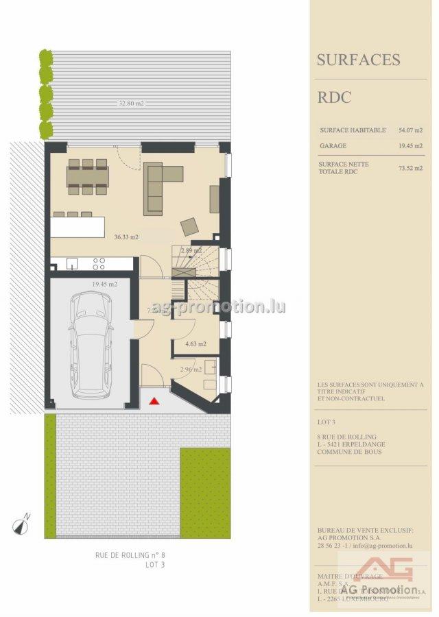 acheter maison individuelle 4 chambres 182.1 m² erpeldange (bous) photo 2