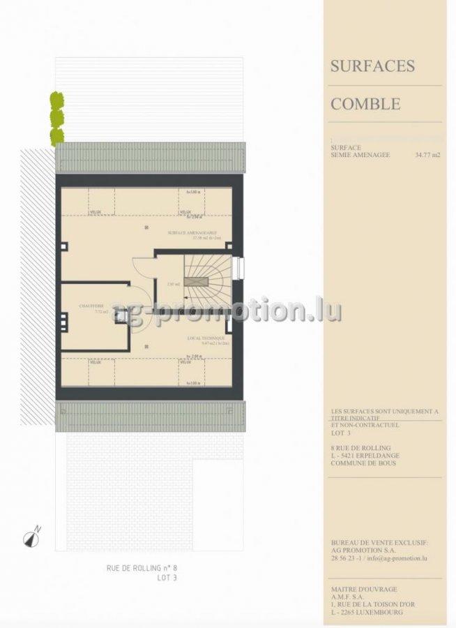 acheter maison individuelle 3 chambres 180 m² erpeldange (bous) photo 4