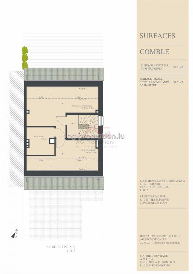 house for buy 4 bedrooms 182.1 m² erpeldange (bous) photo 4