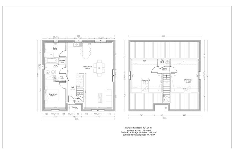 acheter maison individuelle 4 pièces 100 m² charmes photo 2