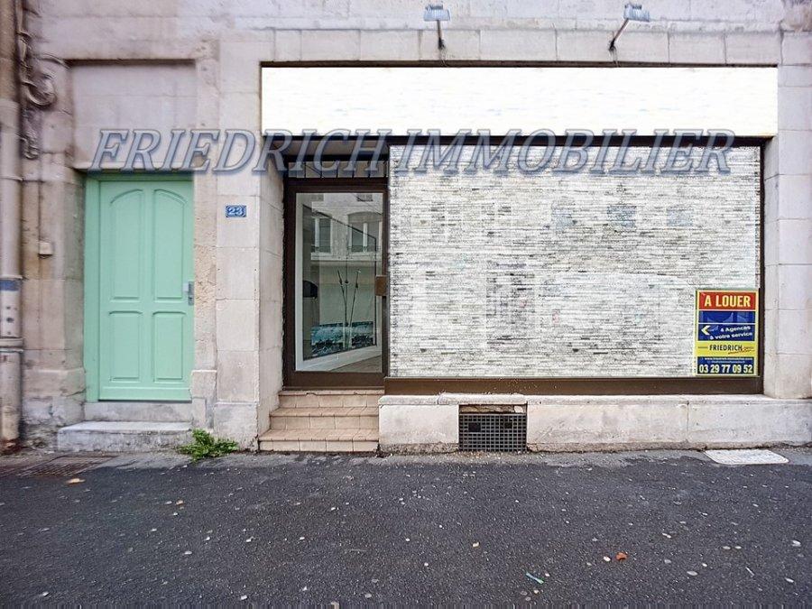 louer local commercial 1 pièce 35 m² ligny-en-barrois photo 1