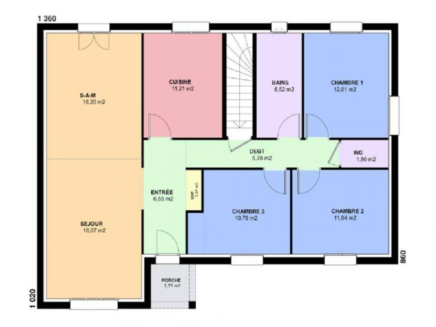 acheter terrain constructible 5 pièces 101 m² bionville-sur-nied photo 4