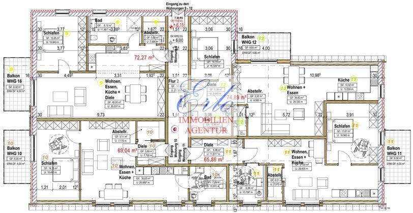 acheter appartement 2 pièces 73.04 m² zerf photo 3