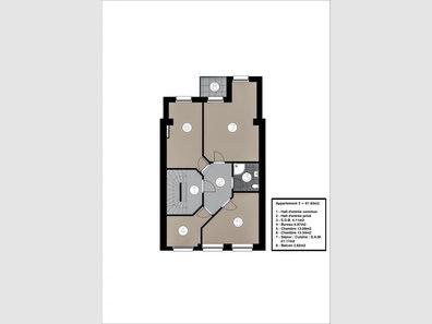Apartment for sale 2 bedrooms in Esch-sur-Alzette - Ref. 7134113