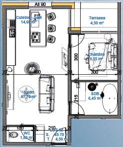 acheter appartement 0 pièce 49.7 m² mont-saint-martin photo 3
