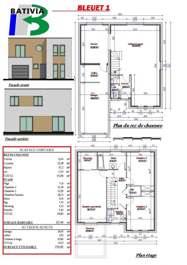 Maison individuelle à vendre F6 à Mécleuves