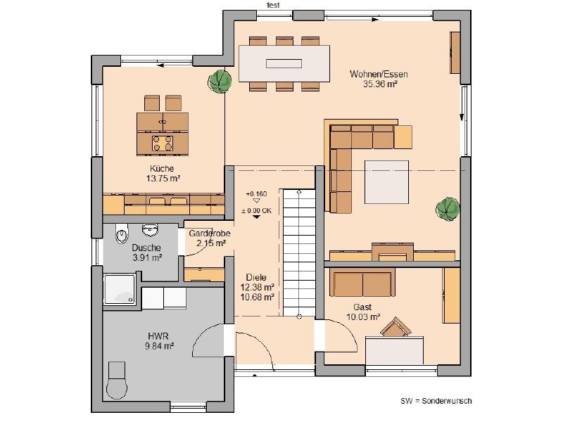 haus kaufen 5 zimmer 160 m² wintrich foto 3