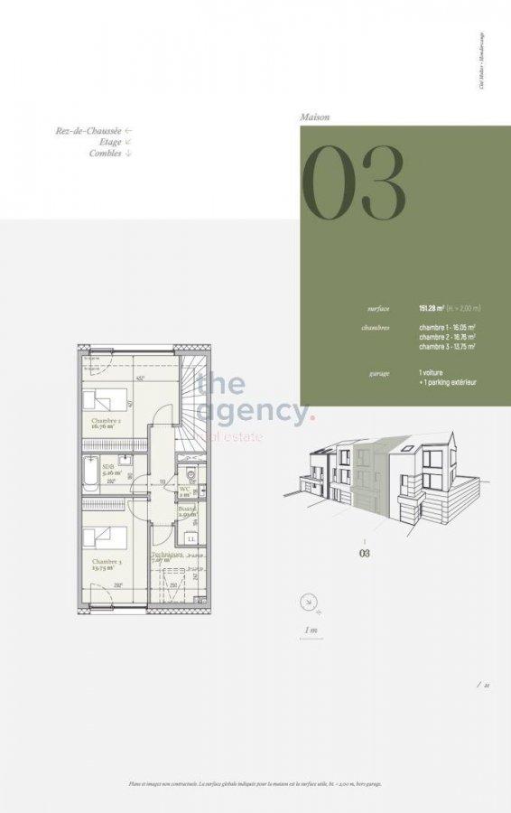 acheter maison 3 chambres 151.28 m² mondercange photo 4