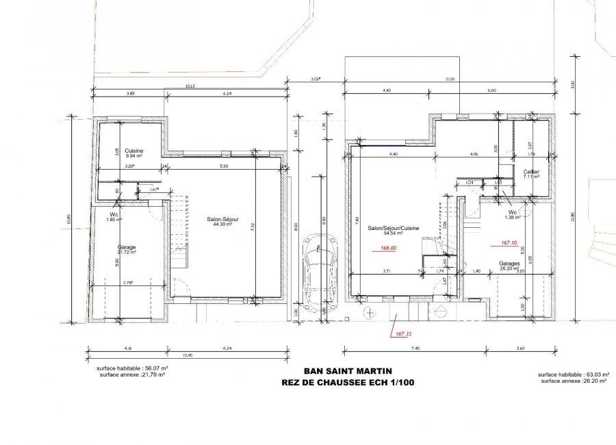 acheter maison jumelée 5 pièces 126.1 m² le ban saint-martin photo 3