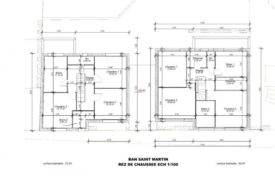 acheter maison jumelée 5 pièces 126.1 m² le ban saint-martin photo 4