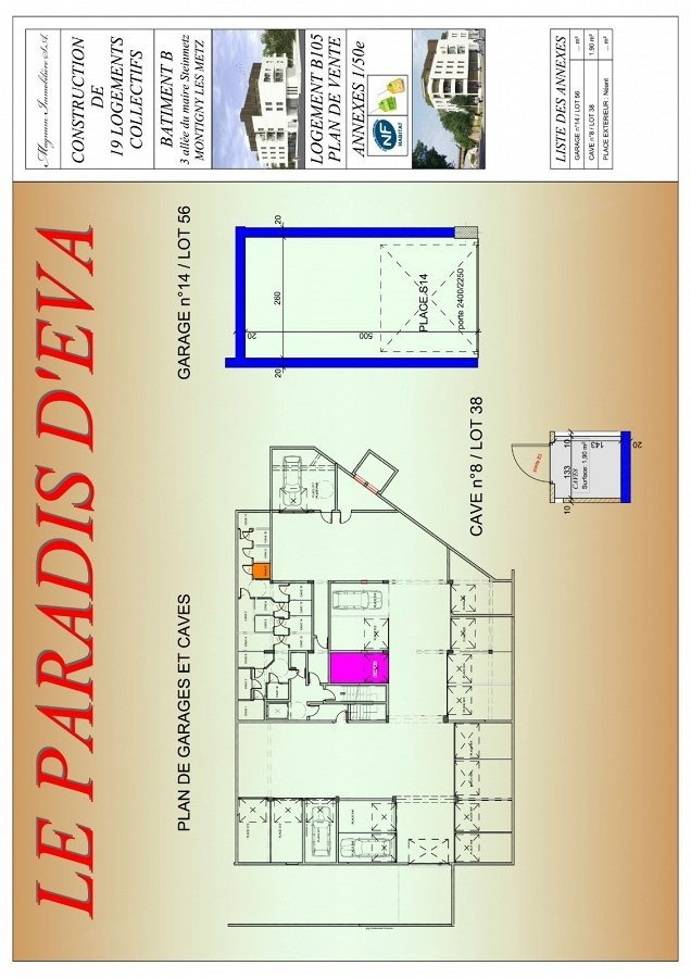 acheter appartement 2 pièces 46.31 m² montigny-lès-metz photo 4