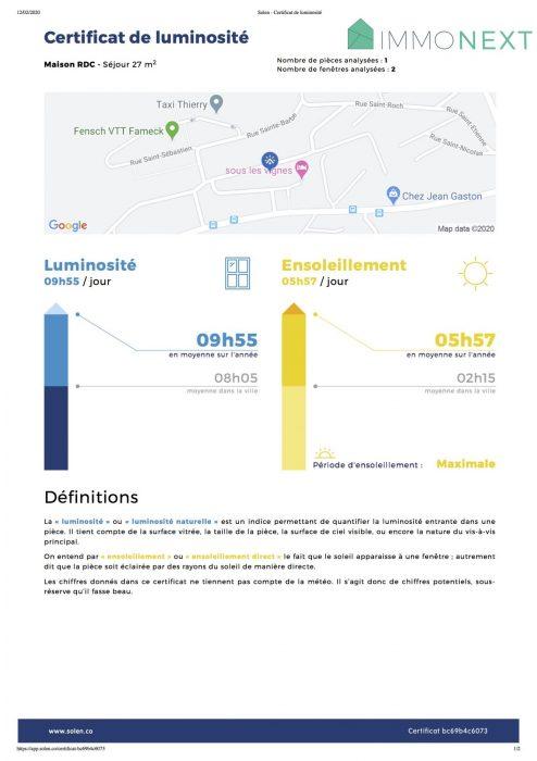acheter maison 7 pièces 125 m² fameck photo 2