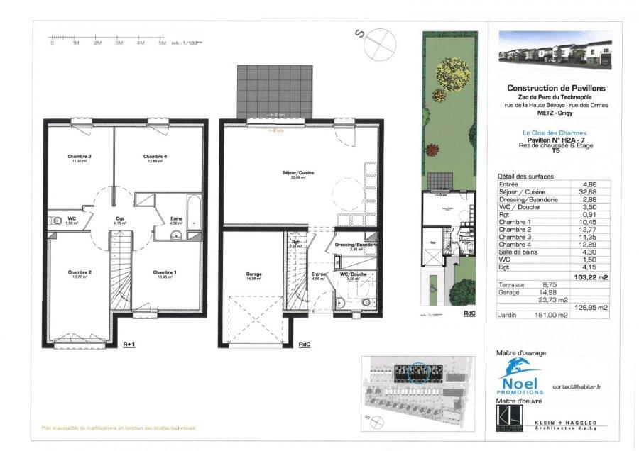 acheter maison 5 pièces 103 m² metz photo 1