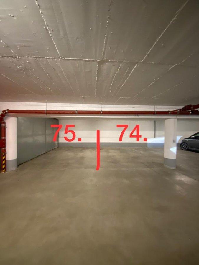 Garage fermé à louer à Luxembourg-Centre ville
