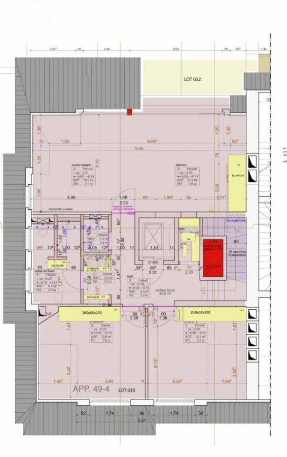 acheter duplex 3 chambres 82.6 m² luxembourg photo 3