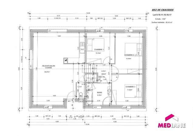 acheter maison 5 pièces 95 m² charmes photo 3