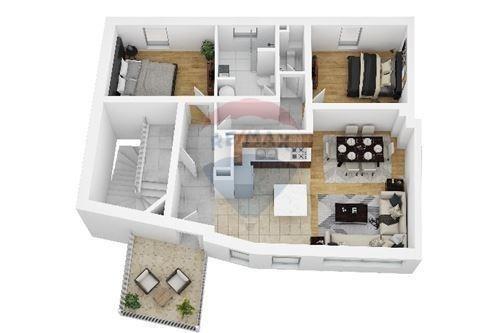 Appartement à vendre 2 chambres à Luxembourg-Pfaffenthal