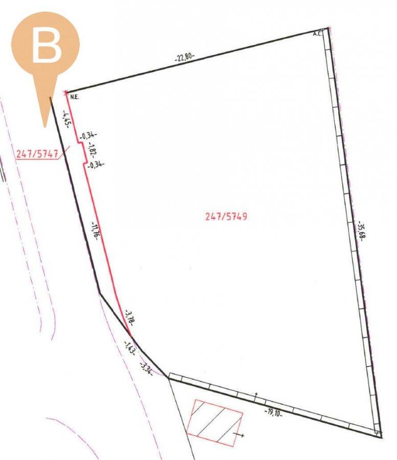 Terrain constructible à vendre à Bettendorf