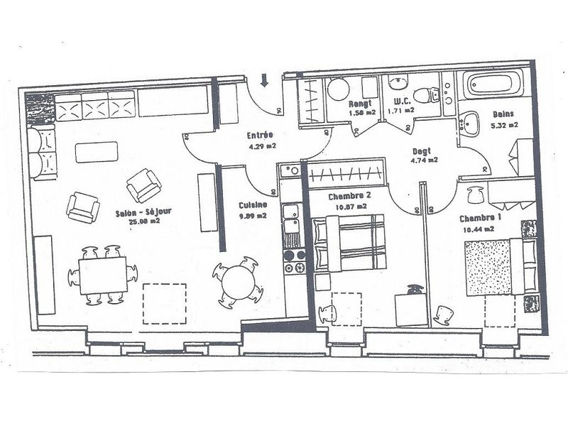 acheter appartement 3 pièces 78.72 m² verdun photo 2