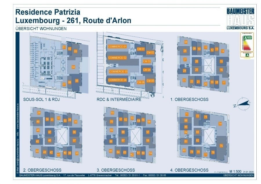acheter penthouse 0 chambre 42.75 m² luxembourg photo 3