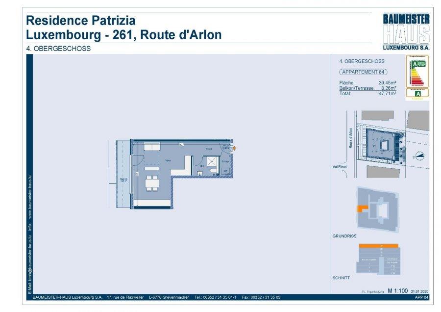 acheter penthouse 0 chambre 42.75 m² luxembourg photo 7