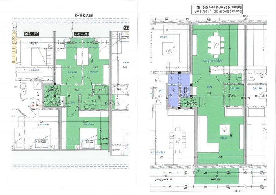 Duplex à vendre 3 chambres à Niederpallen