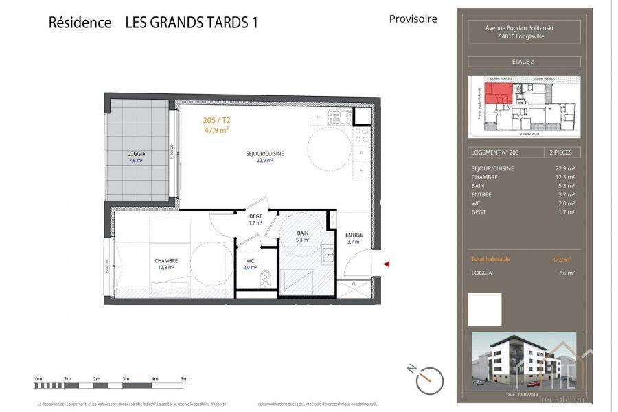 acheter appartement 0 pièce 47.9 m² longlaville photo 1