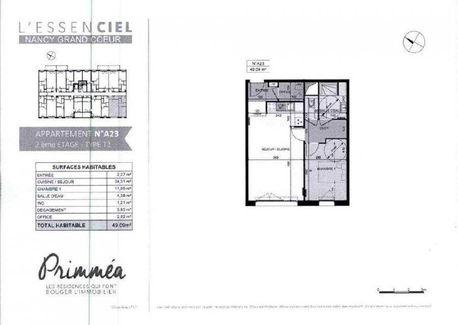 louer appartement 2 pièces 49.09 m² nancy photo 2