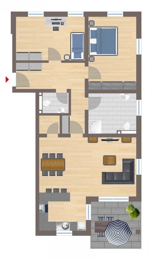 wohnung kaufen 3 zimmer 94.49 m² echternacherbrück foto 2