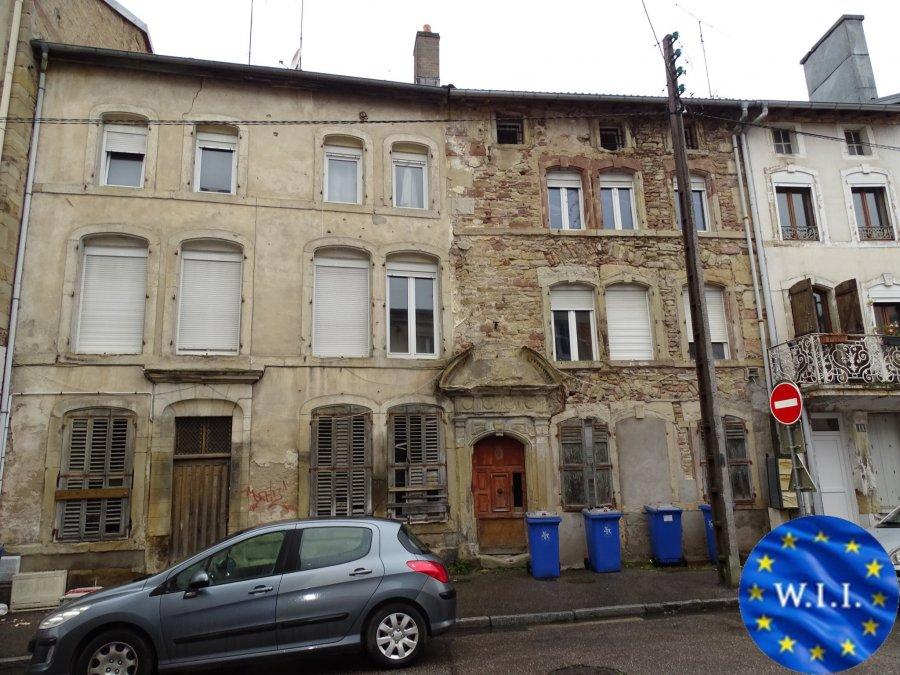 acheter immeuble de rapport 8 pièces 250 m² rambervillers photo 1