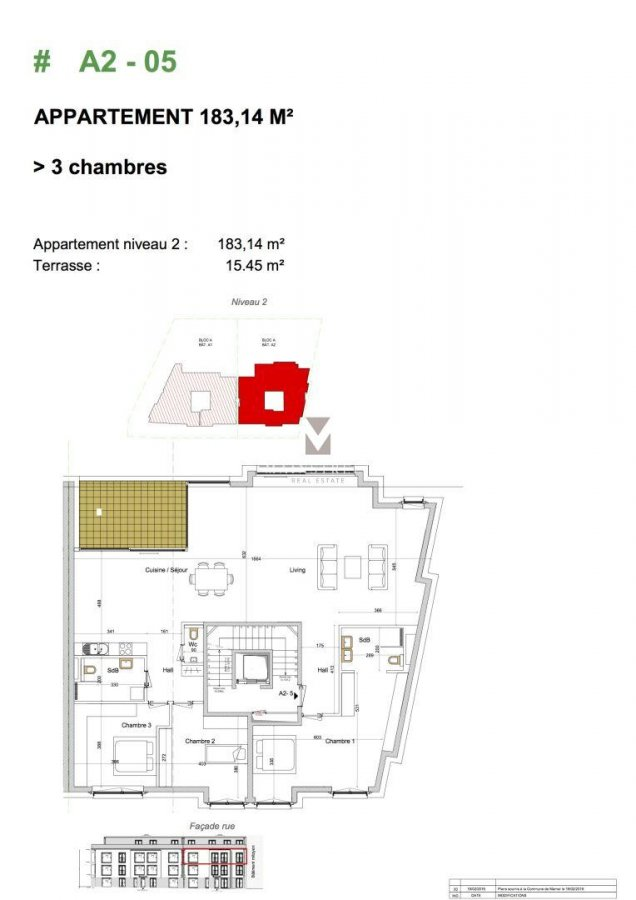 acheter appartement 3 chambres 183.14 m² mamer photo 2