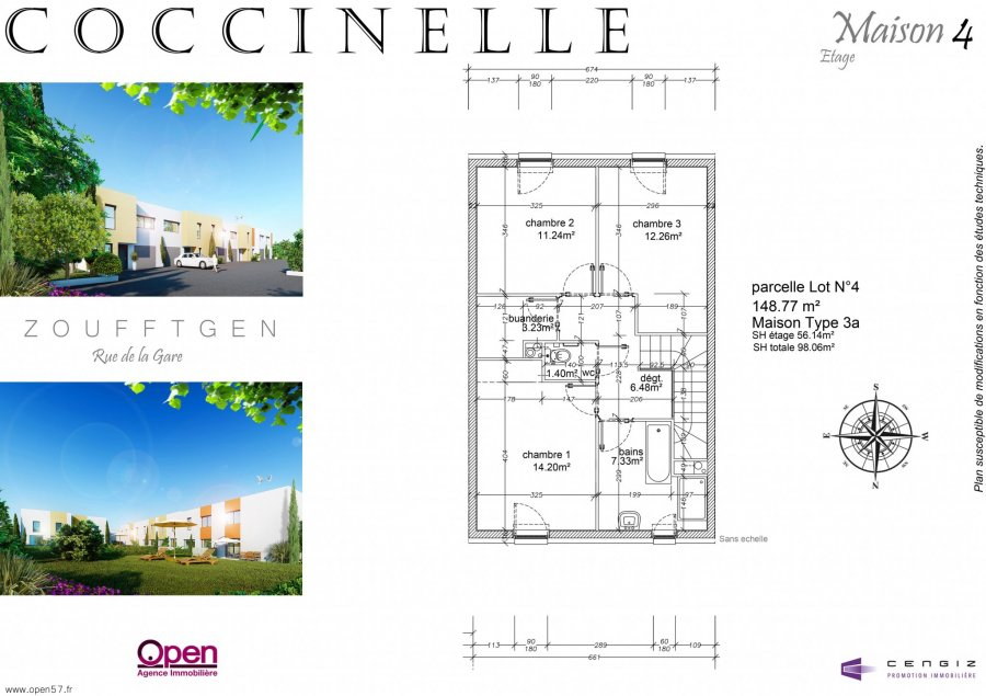 acheter maison 5 pièces 96.82 m² zoufftgen photo 7